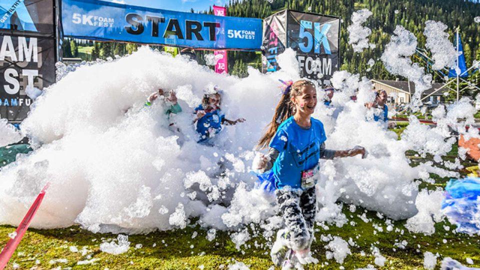 The 5K Foam Fest: Brisbane