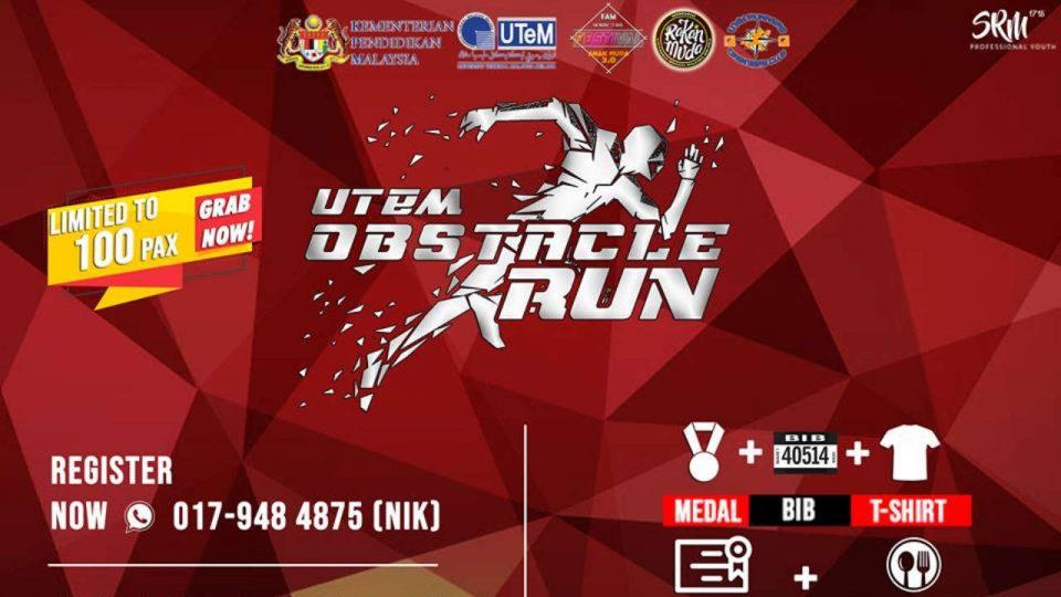 UTeM Obstacle Run 2018