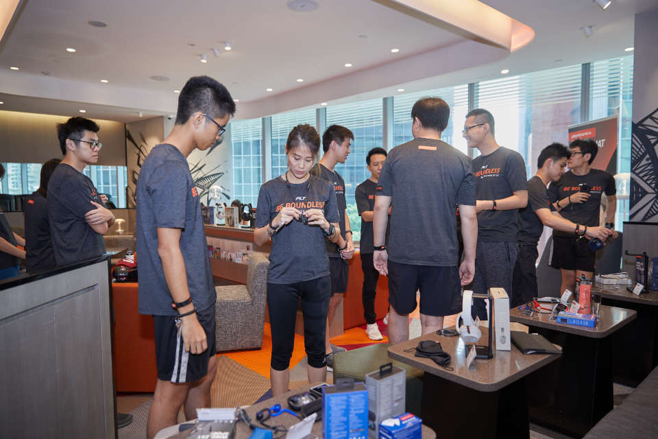 What happened at Plantronics Be Boundless Media Launch!
