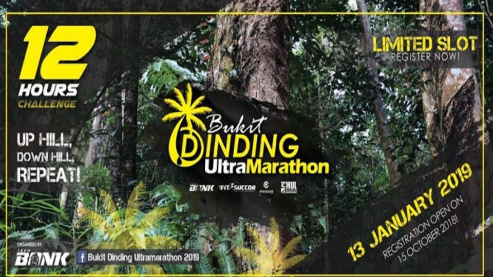 Bukit Dinding Ultra Marathon 2019