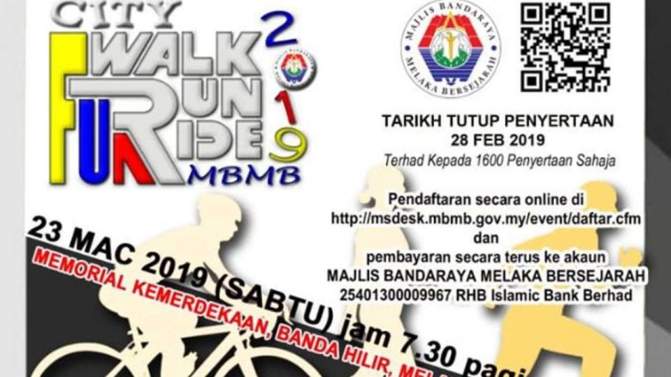 City Fun Walk, Run & Ride 2019
