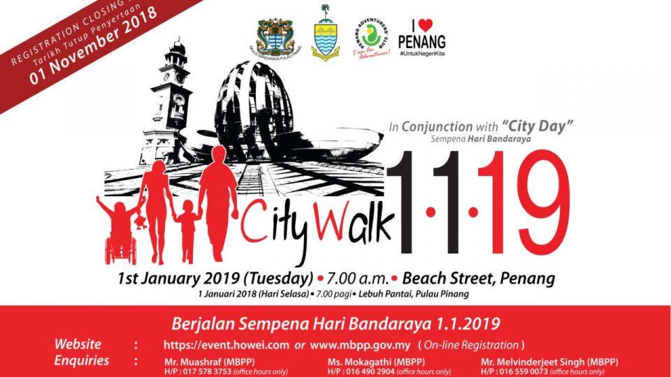 City Walk 2019