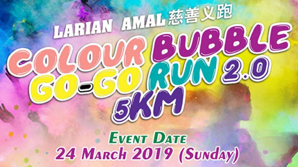 Colour Bubble Go-Go Run 2.0 5km