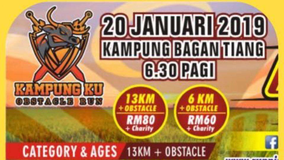 Kampung Ku Obstacle Run 2019