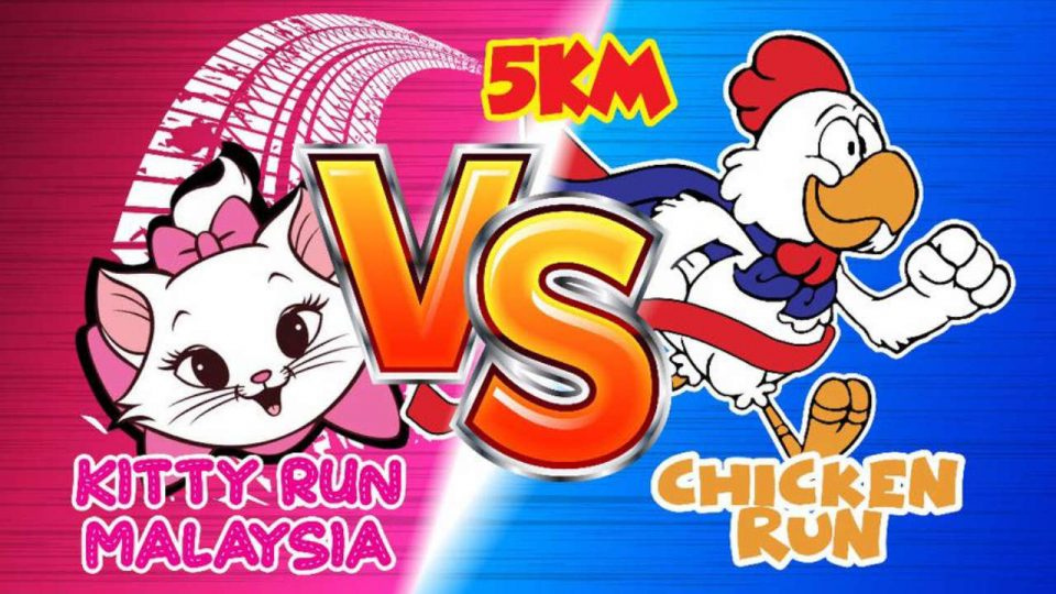 Kitty Vs Chicken Run 2019