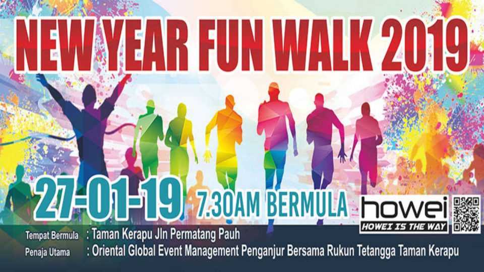 New Year Fun Walk 2019