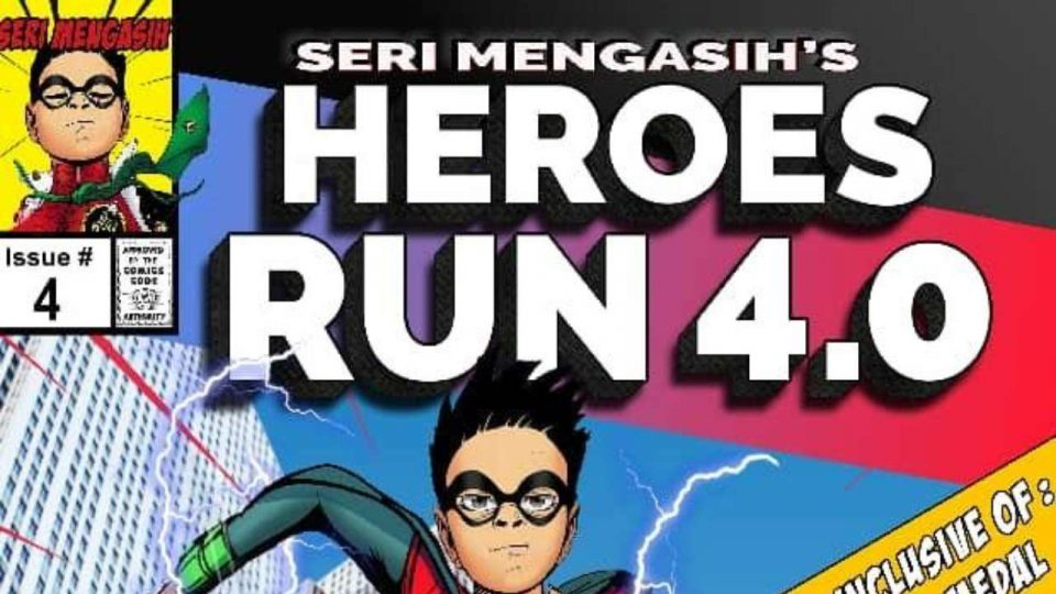 Seri Mengasih Heroes Run 4.0 2019