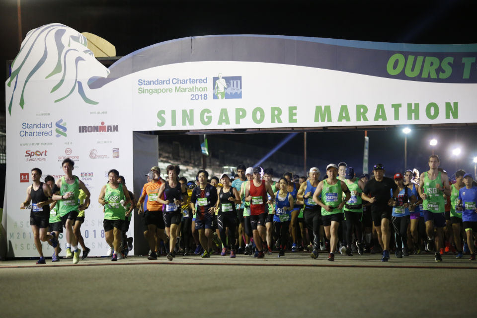 Standard Chartered Singapore Marathon 2018 Race Results