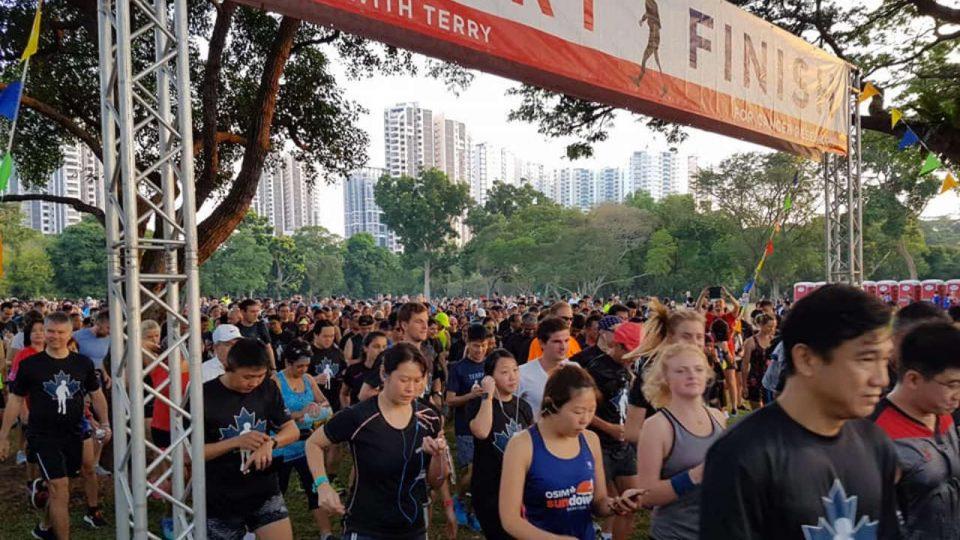 Terry Fox Run Singapore 2019