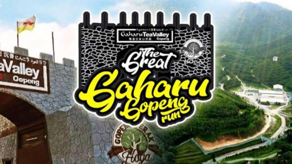 The Great Gaharu Gopeng Run 2019