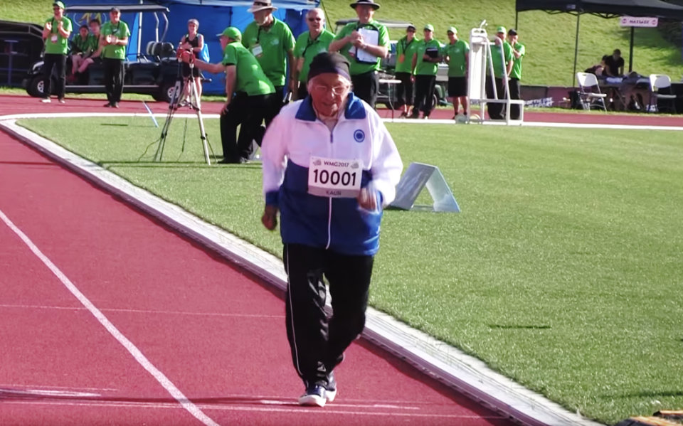 This Indian athlete is over 100 years old. Yet she is still winning running gold medals.