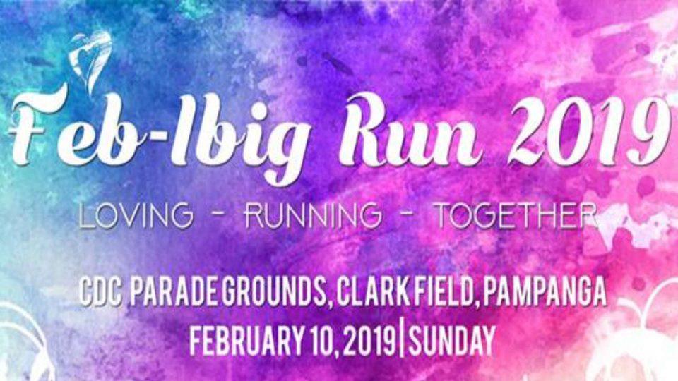 Clark Feb-ibig Run 2019