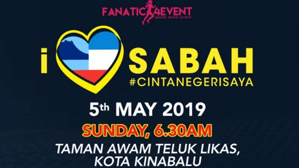 I Love Sabah Run 2019