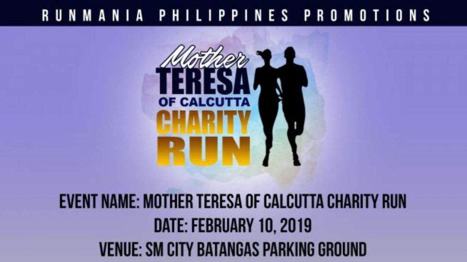Mother Teresa Of Calcutta Charity Run 2019