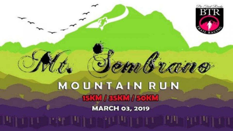 Mt. Sembrano Mountain Run 2019