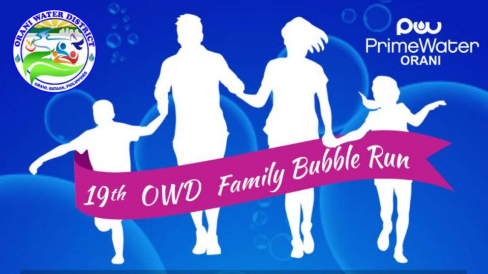 OWD Family Bubble Run 2019