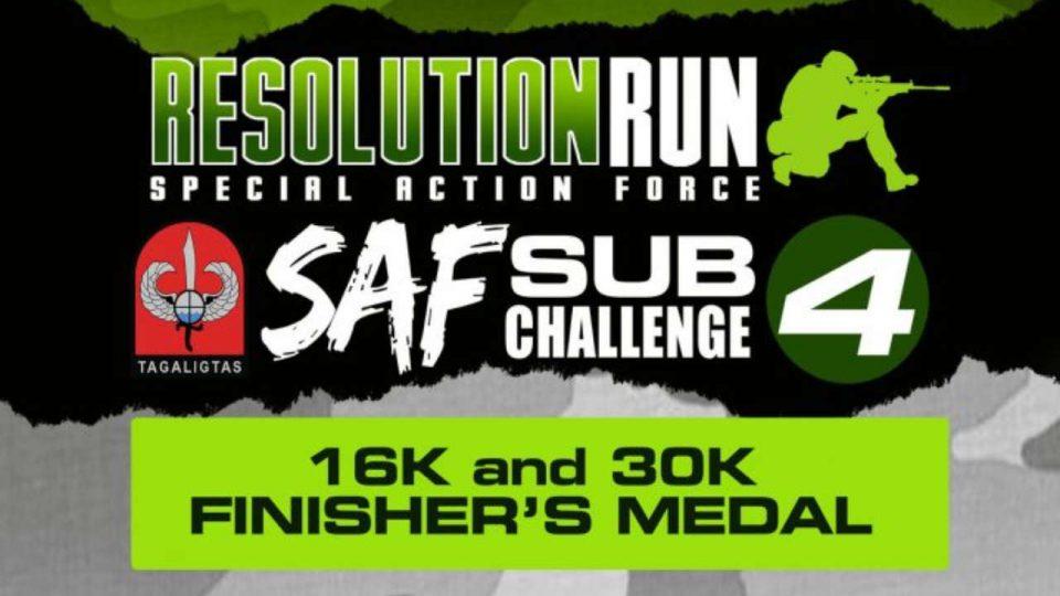 Resolution Run – SAF Sub 4 Challenge 2019