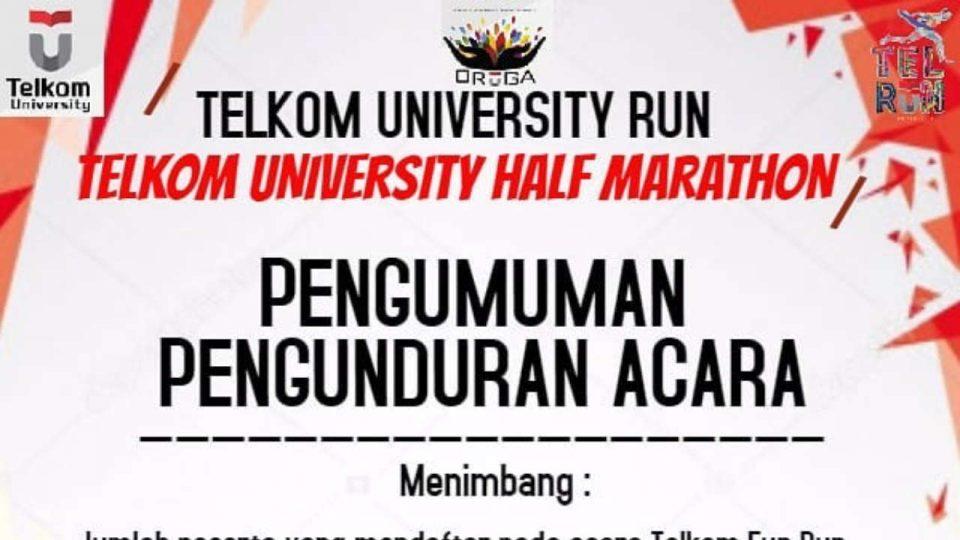 Telkom University Half Marathon 2019