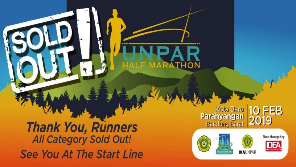 Unpar Half Marathon 2019