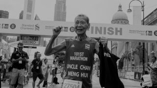 Farewell to Singapore's Oldest Marathoner, Uncle Chan