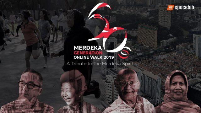 Merdeka Generation Online Walk 2019