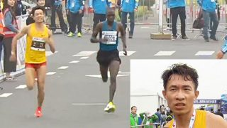 Chinese Runner Won At Shanghai Half Marathon Despite Diarrhoea During The Race