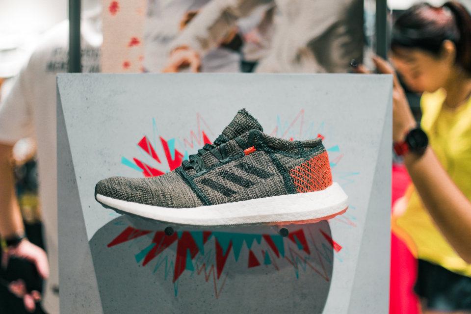 Versatile adidas PureBOOST GO Updated For City Running