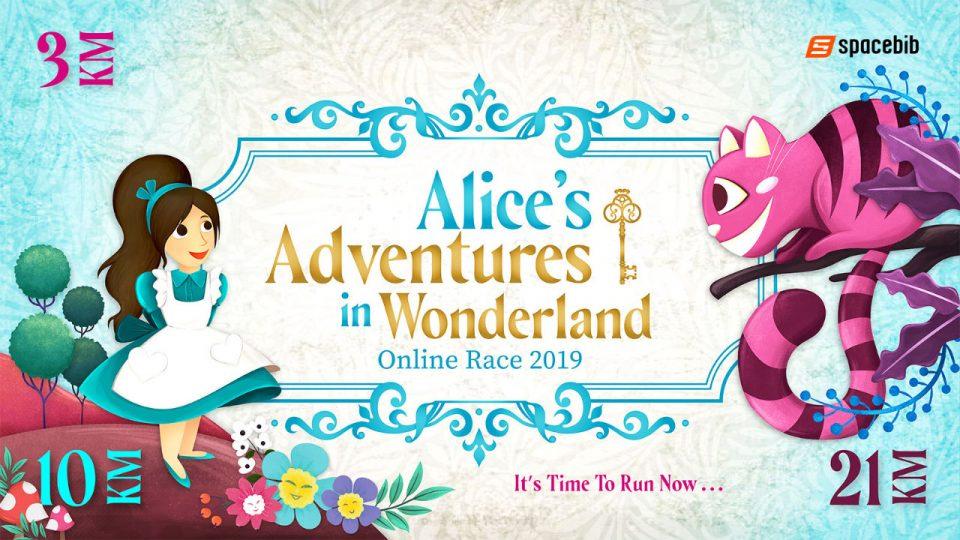 Alice's Adventures in Wonderland Online Race 2019